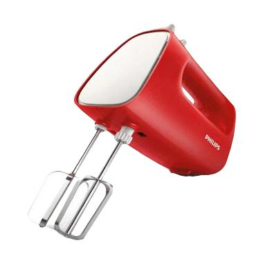 Philips HR-1552 Hand Mixer - Red