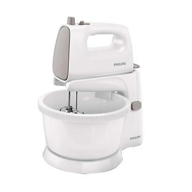 Philips HR1559 New Stand Mixer - White Gray
