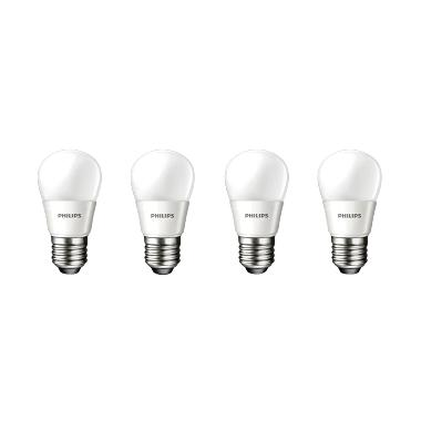 Philips Lampu LED [6W - 50W/4 pcs]