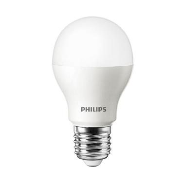 Philips LED Putih Lampu Bohlam [6 W-50 W/1 Pcs]
