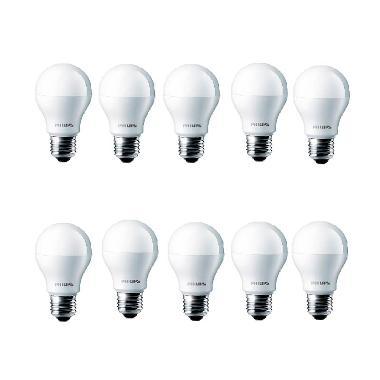 Jual Philips LED Putih Lampu Bohlam [6 W/10 Pcs] Online - Harga & Kualitas Terjamin | Blibli.com