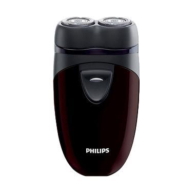 Philips Shaver Electric Alat Cukur Kumis dan Jenggot PQ 206 - Hitam