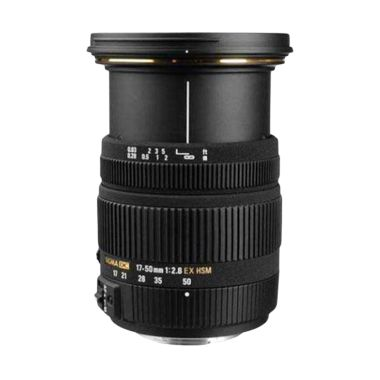 Sigma 17-50mm F2.8 EX DC OS HSM Black Lens for Canon
