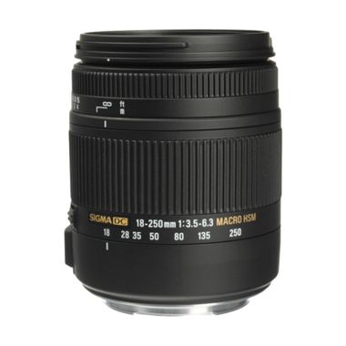 Sigma 18-250mm F 3.5 -6.3 DC Macro OS HSM Camera Lens For Nikon