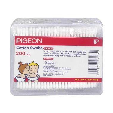 Pigeon Cotton Swab [200 Pcs] PR061502