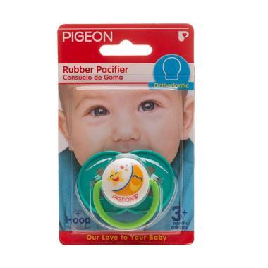 Pigeon Rubber Pacifier TG2 Orthodontic Flower G Dot Bayi PR050703