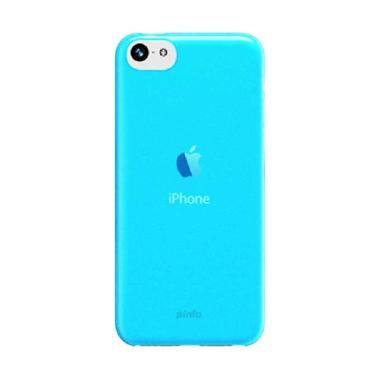 Pinlo Slice 3 Transparent Blue Casing for iPhone 5C