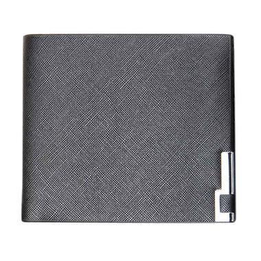 Pixel99 Men Thin Leather Wallet Black Men Wallet