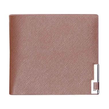 Pixel99 Men Thin Leather Wallet Brown Men Wallet