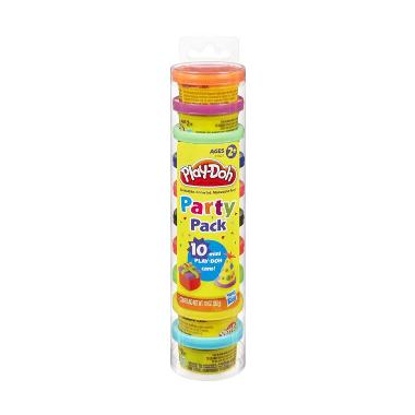 Play-Doh Party Pack 10 Cans 22037 Mainan Anak