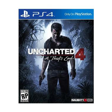 Sony PS4 Uncharted 4: Thief's End DVD Game
