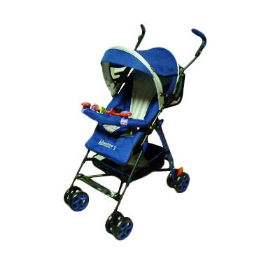 Pliko 108 Buggy Adventure2 Navy Blue Kereta Dorong
