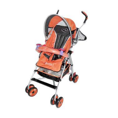Pliko Buggy Adventure Orange Kereta Dorong Bayi