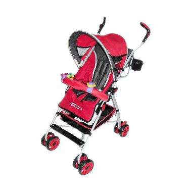 Weekend Deal - Pliko Buggy Adventure Red Kereta Dorong Bayi