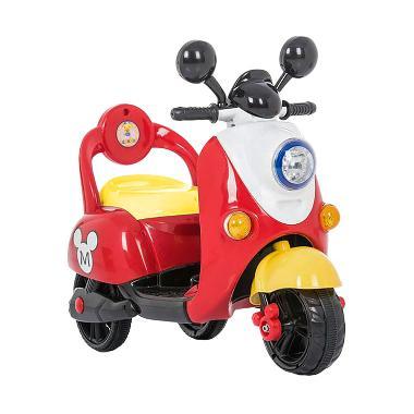 Pliko Motor Mainan Aki Scoopy Micke ... JAWA & JABODETABEK SAJA)