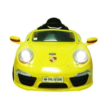 Pliko PK 1818N Porsche 911 Mainan Mobil - Yellow
