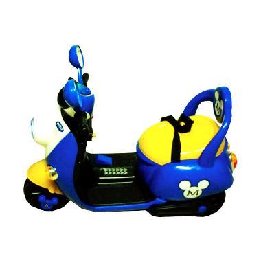 Pliko Pk 8500/7788 Motor Scoopy Remote Mainan Anak - Blue