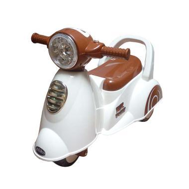 Pliko Ride On Scoopy Mainan Anak - White