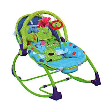 Pliko Rocking Chair Hammock 3 Phases Tempat Tidur Bayi