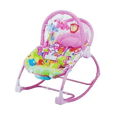 Pliko Rocking Chair Hammock 308 Owl Tempat Tidur Bayi