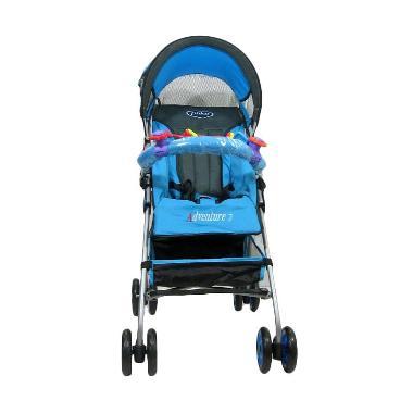Pliko Stroller Buggy Adventure Ocean Blue Kereta Dorong Bayi