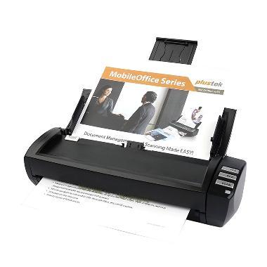 Plustek AD480 Scanner ADF Otomatis [Folio/F4, 20 Lembar/Menit]