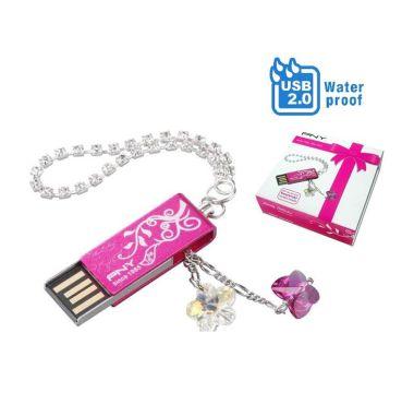 Jual PNY USB2.0 Flash Drive Swarovsky Lo ... Gift Box] Water Resistant Harga Rp 109000. Beli Sekarang dan Dapatkan Diskonnya.