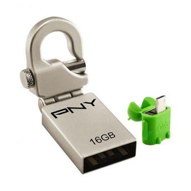 PNY Mini Hook Flash Disk [16GB]