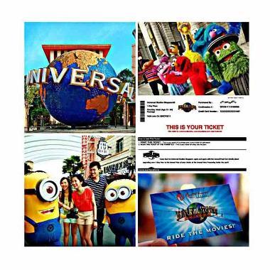 Point Tour - Universal Studio Singapore E-Ticket [Child]