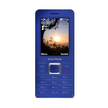 Polytron C245 Handphone - Biru