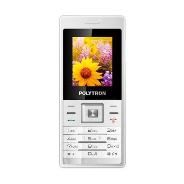 POLYTRON Candybar C204 Handphone - Putih