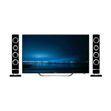 Polytron Cinemax Pro PLD 43TS865 TV LED - Hitam