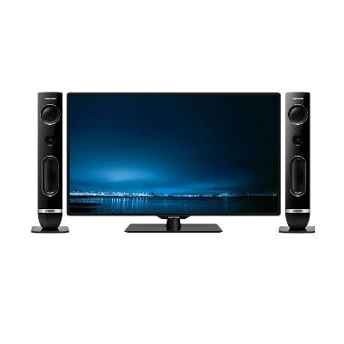 Polytron Cinemax Wave PLD 40TS856 TV LED - Hitam
