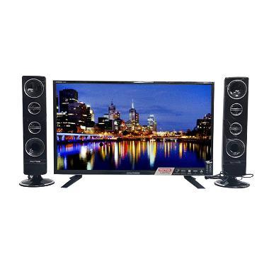POLYTRON PLD32T1500 TV LED - Hitam [Tower CinemaX/32 Inch]