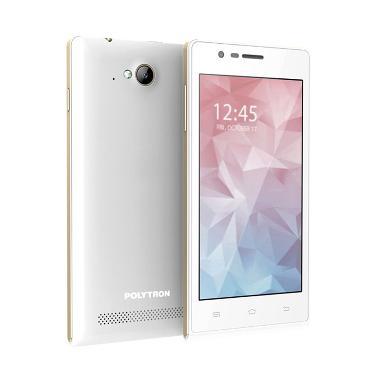 Polytron Zap 5 White Smartphone [4G/Dual SIM]