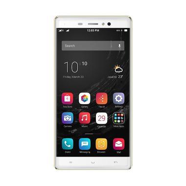 Polytron Zap 6 Posh 4G501 Smartphone - Gold + Free Power Bank 6200mAh + Micro SD 8 GB