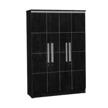 Popular Furniture LP 8797 Lemari Pakaian [3 Pintu]