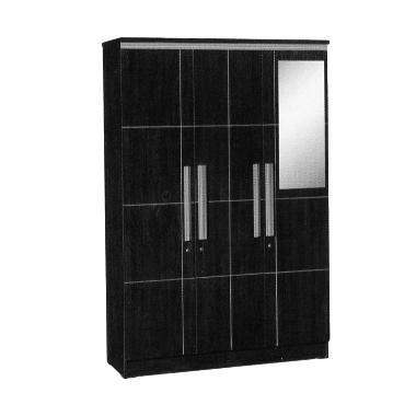 Popular Furniture LP 8798 Lemari Pakaian [3 Pintu]