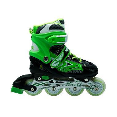 Power Line Sepatu Roda Inline Skate - Hijau