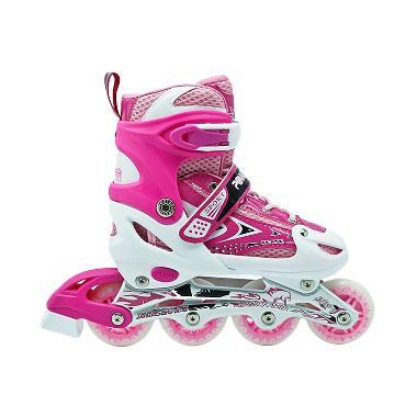 Untuk Harga Anak Skate Inline Roda Power Online Line Jual Pink Sepatu