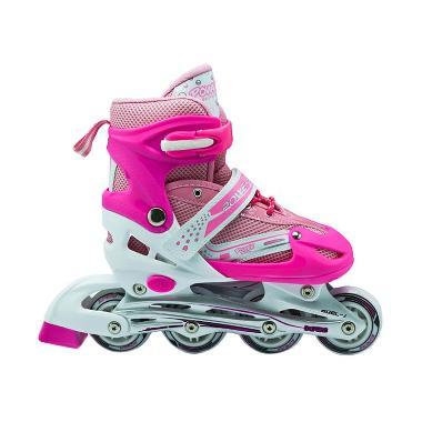 Power Super Sepatu Roda Inline Skate - Pink