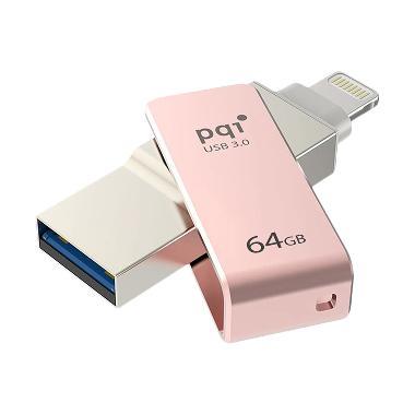 Pqi iConnect Lightning Apple & USB  ... hdisk - Rose Gold [64 GB]