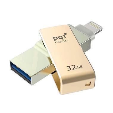 Pqi iConnect Mini Lightning Apple a ...  Flashdisk - Gold [32 GB]