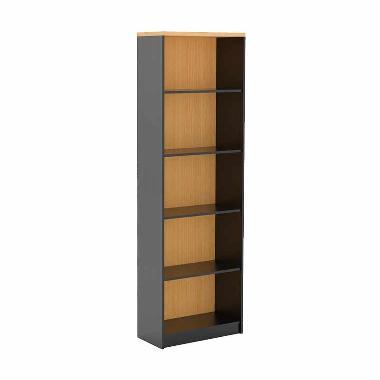 Prissilia Mortred Standard Bookcase Rak Buku - Beech