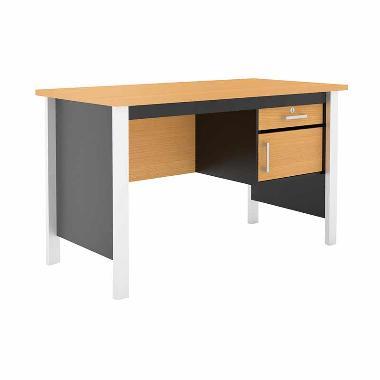 Prissilia Mortred Study Desk Meja Belajar - Beech