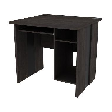 Prissilia Zehn Office Table Dark Oak Meja Kantor