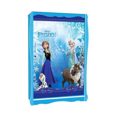 FCENTER Frozen Biru Lemari Sliding  ...