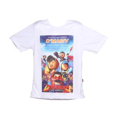 Musica Studios D'Masiv Kaos Jersey Anak Boboiboy White Merchandise