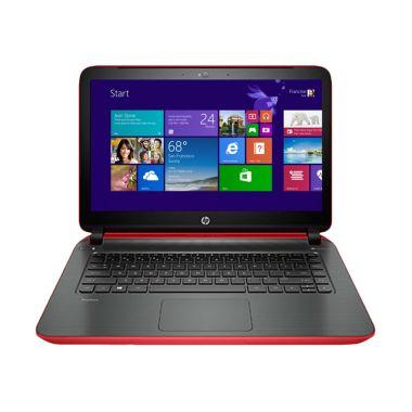 HP 14-V209TX Merah Notebook         ...
