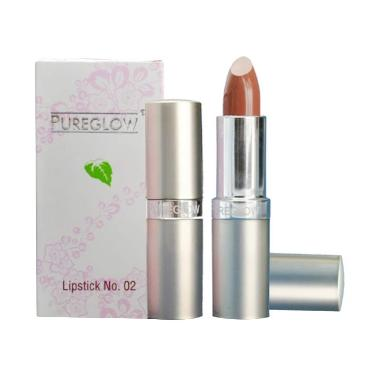 Pureglow Innoplaza Lipstick No. 02 Majesty Brown 4gr